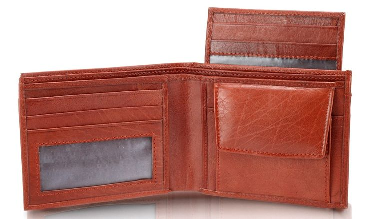 Tan color Leather combo  Tan color perfect combo good together made for each other!  Ladies clutch;  10 card slots with 3 transparent Photo ID card slot,