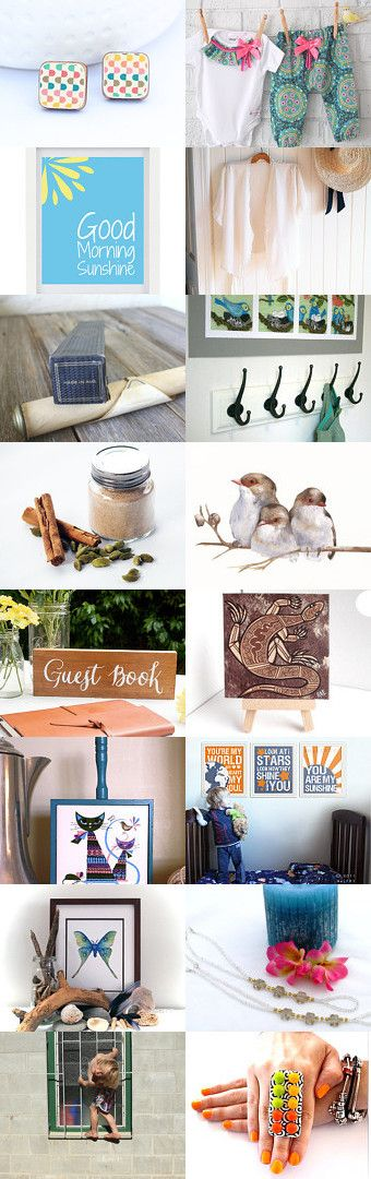 Good Morning Sunshine! by Cat on Etsy--Pinned with TreasuryPin.com