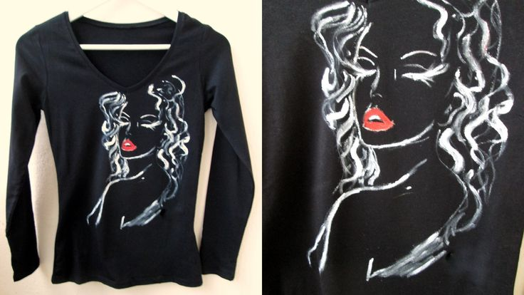 """""""Stolen kisses are always the sweetest""""- Leigh Hunt   Hand painted t-shirt"""