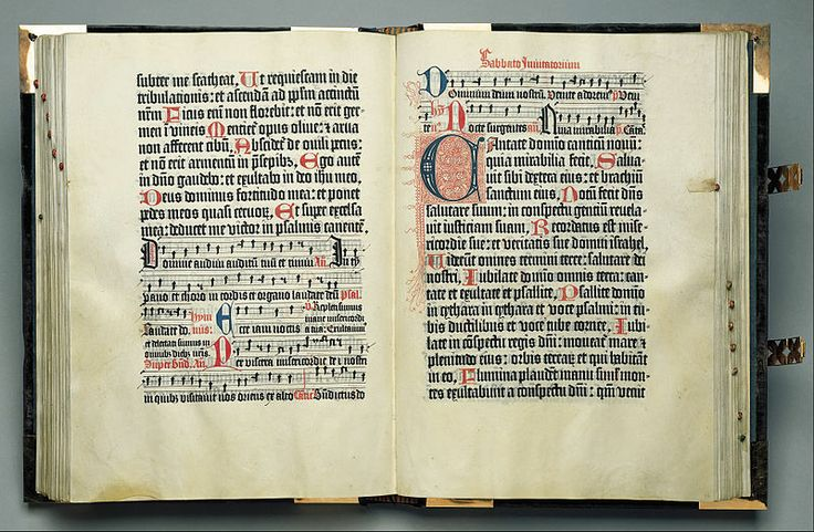 Johann Fust & Peter Schoeffer printed the first ever book that was in colour