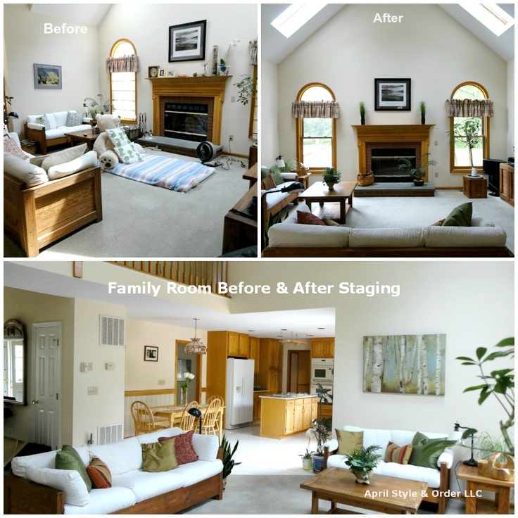 Kitchen Staging Before And After: 1000+ Images About Home Staging Before And After Photos On
