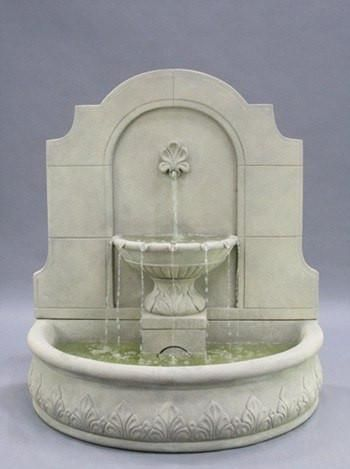 Free Shipping and No Sales Tax on the Provincial Cast Stone Wall Outdoor Fountain from Outdoor Fountain Pros