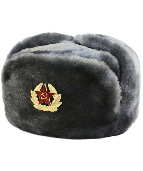 d32922e4714f9 Hat Russian Soviet Army Air force Fur Military Ushanka   GR   Size L  CR1161TE44J -