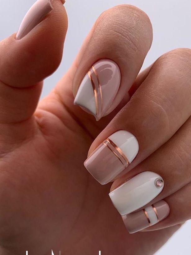 30 Süße und natürliche Short Square Nails Sommer Nägel Design-Ideen – – Nägel – Nail Art