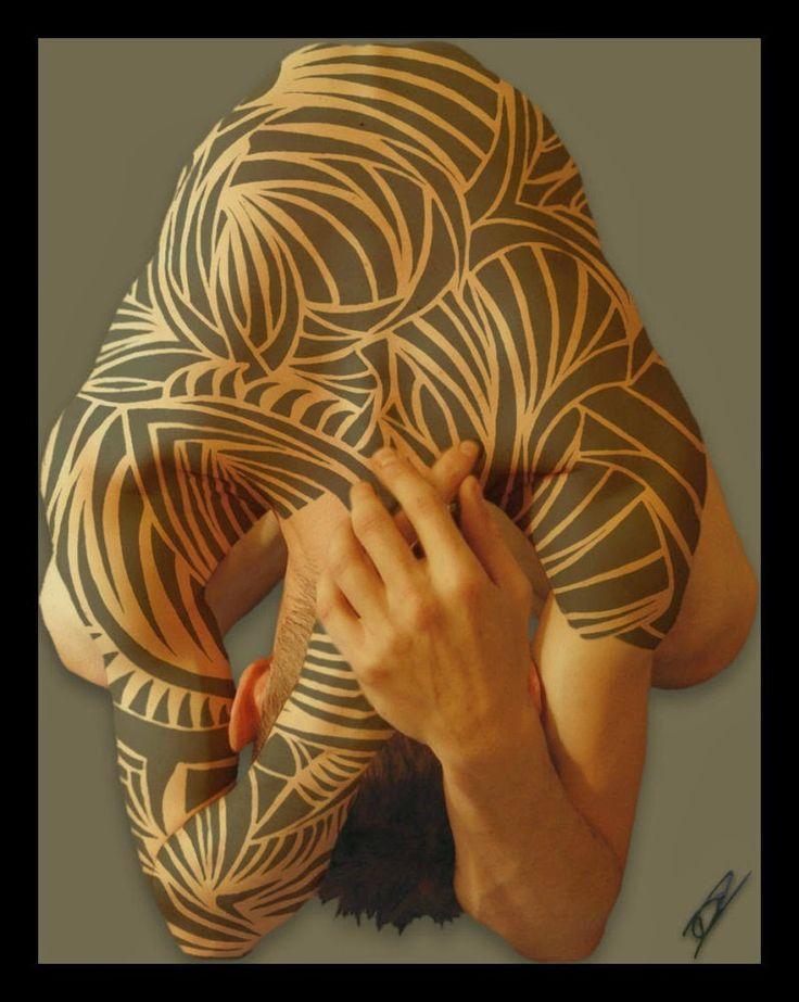 Full Body Henna Tattoo: Henna Full Body Tattoo Man Design Makeup (With Images