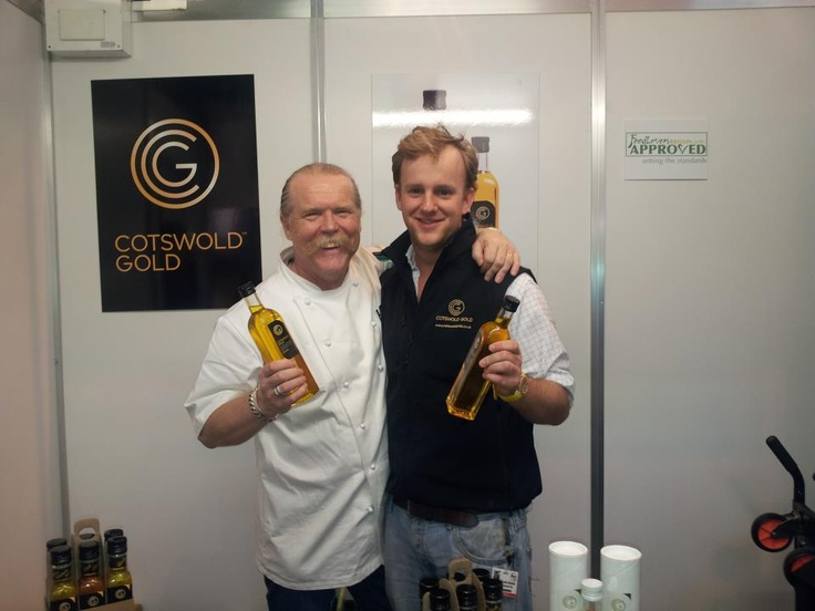 Martin Blunos at the BBC Good Food Show