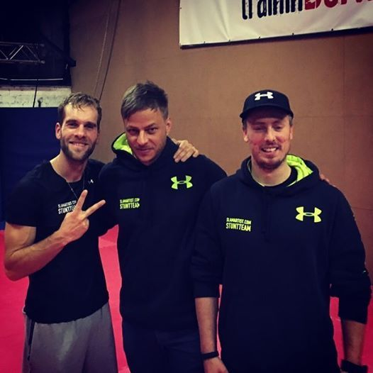 Just all about Tom Wlaschiha : Photo Tom Wlaschiha training for a new film.  Source tumblr