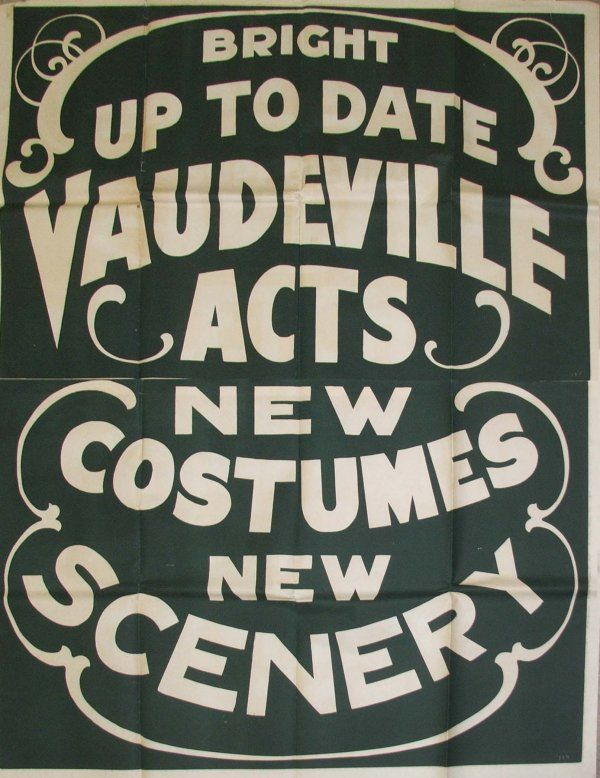 25 best images about Vintage Painted backdrops for Vaudeville on ...