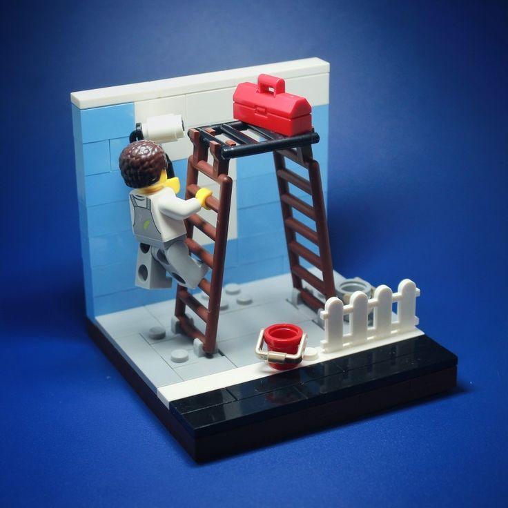 Lego Ideas Habitats Lego Room Vignettes Legos