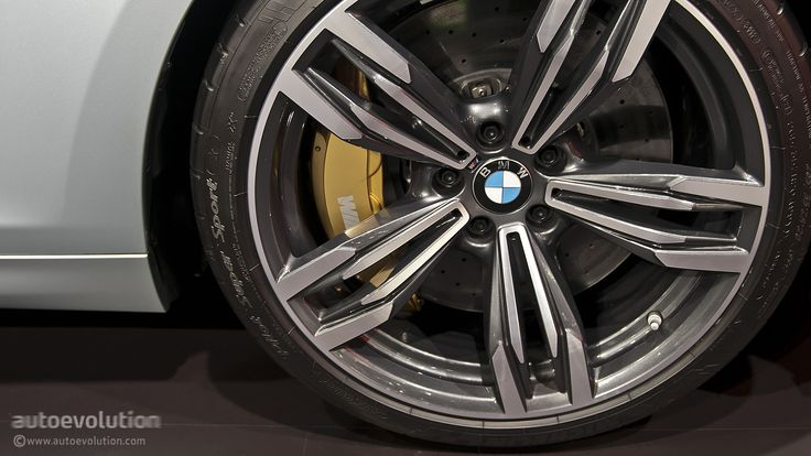 """2013 BMW M6 Gran Coup low profile rims and tires: """"Can wheels be orgasmic? BMW says YES!!!"""""""