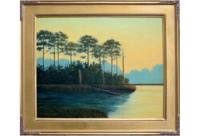 Gulf Sunset by Max Flandorfer