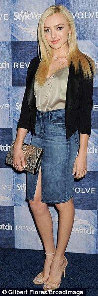 Denim lovelies: Tia Mowry, Peyton List and Bailee Madison show off their good jeans