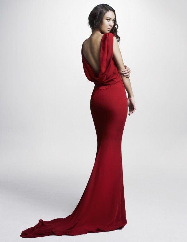 sexy red dress (Yoon Mi rae)
