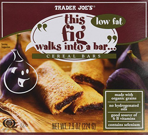 2 Boxes Trader Joes Fig Cereal Bars total 12 bars ** More info could be found at the image url.Note:It is affiliate link to Amazon. #stars