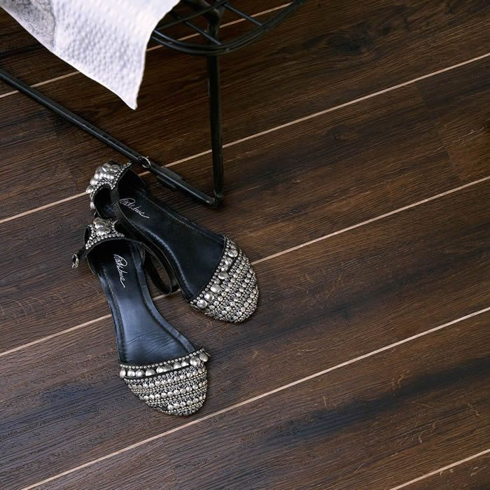 Polyflor Camaro Roasted Oak 2237 Vinyl Flooring Basement