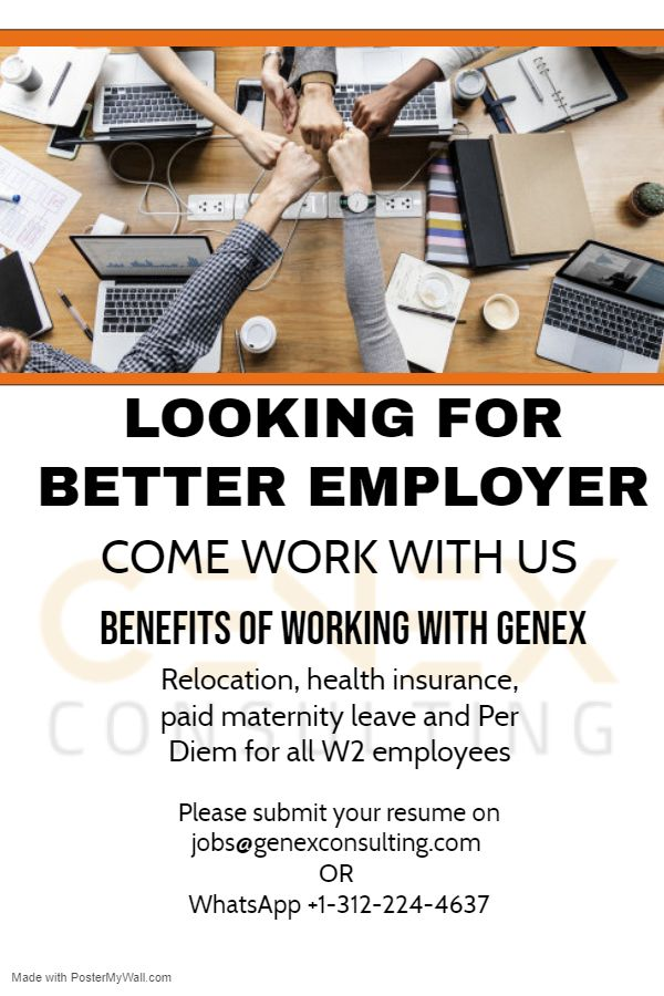 Come Work With Us We Provide Best Employment Benefits To All Our