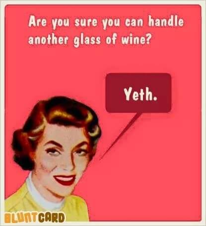 wine yeth funny girls women memes