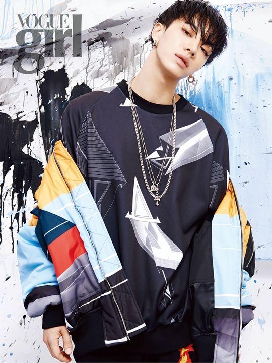 Beast Kikwang in Vogue Girl Korea August 2015