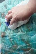 Wet Felting A Silk Scarf...tutorial