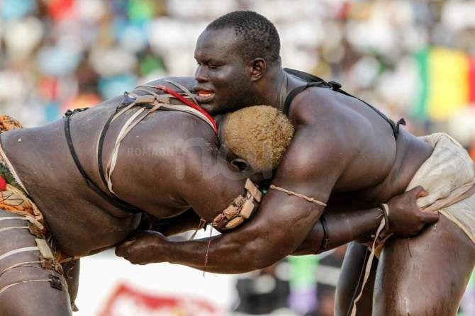 Senegal, incontri di lotta tradizionale a gara Le Choc a Dakar - RomagnaNOI
