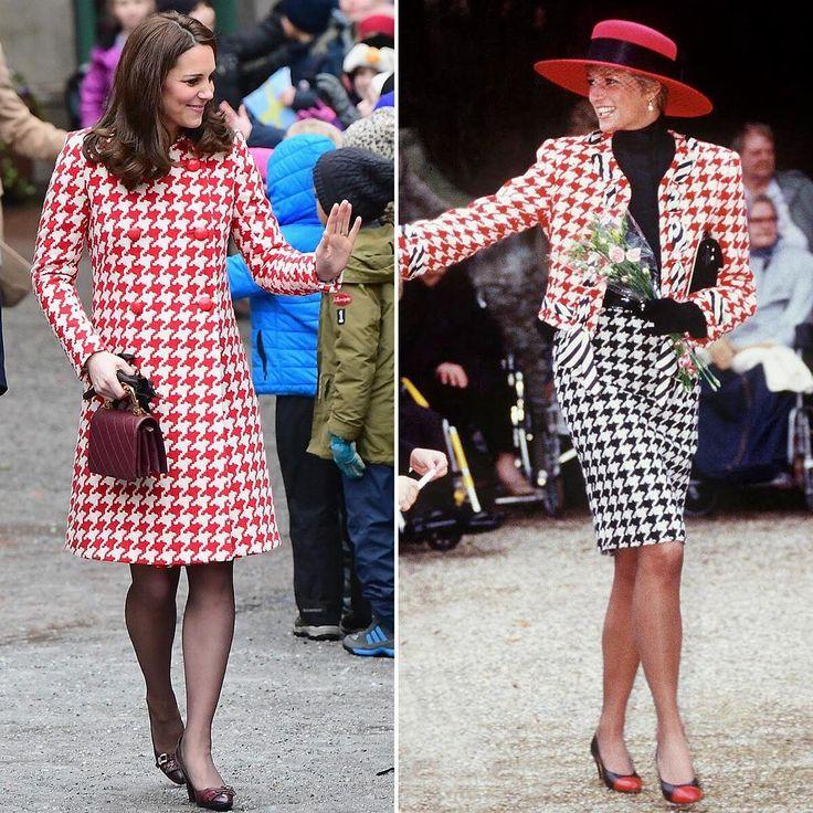 5,192 отметок «Нравится», 35 комментариев — hola.com México (@hola_mx) в Instagram: «¿A quién te recuerda el abrigo de Kate en su segundo día en Suecia? ¡A la Princesa Diana! Todas las…»