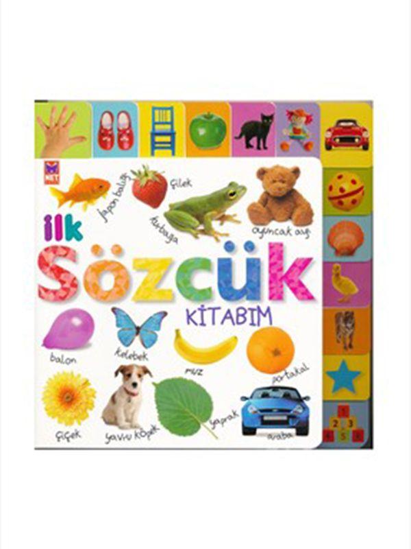 İlk Sözcük Kitabım - Çocuklarınız kelime hazinesini bu çok eğlenceli kitap ile genişletecek. #bebekkitapları #çocukkitapları #sözcükler #ilksözcüklerim #kitap