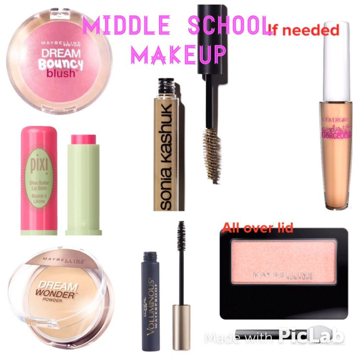✏️Middle school Makeup✏️