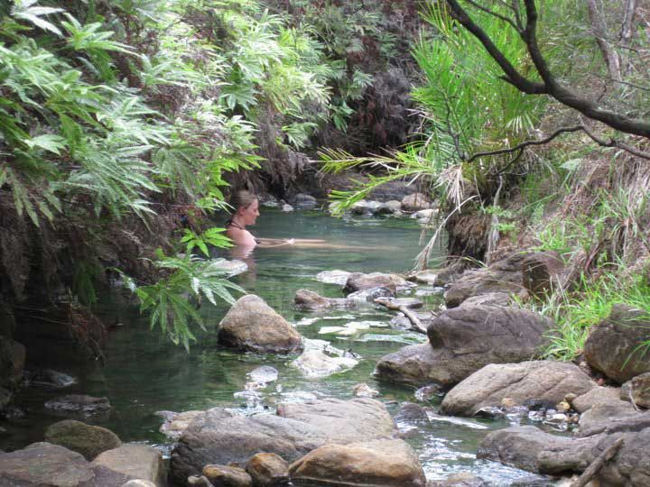 Kaitoke Hot Springs, Great Barrier Island, Hauraki Gulf, New Zealand