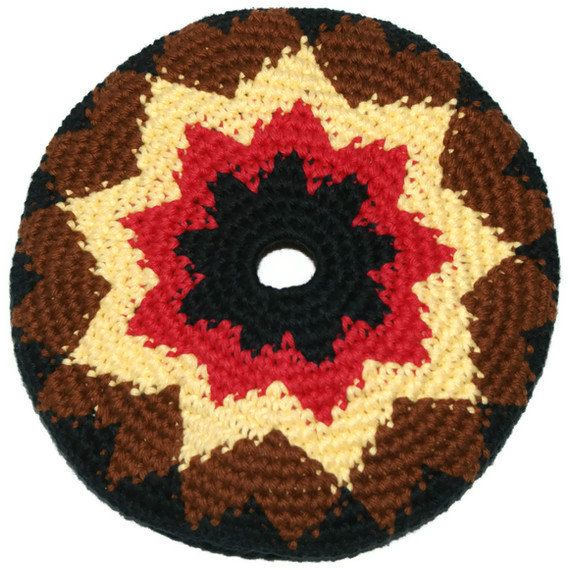 Frisbee Flying Disc Star Cotton Crochet by pigswife on Etsy, $10.00: Etsy Stuff, Favorite Things, Kitchen Items, Flying Disc, Creative Friends, Friends Shops, Cotton Crochet