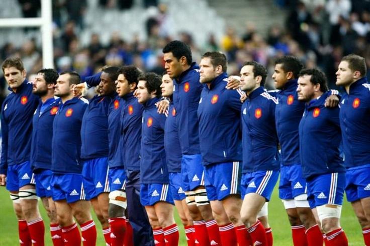 Elle a de la gueule cette équipe de France #rugby #XV DE FRANCE