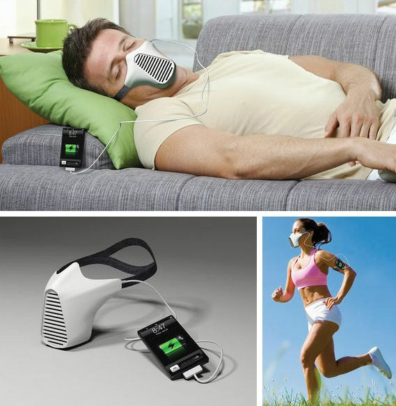 Charge Your Smartphone By Breathing