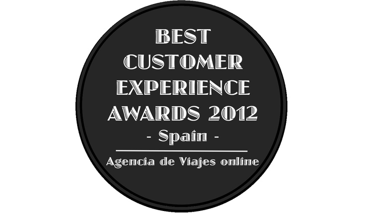Best Customer Experience Awards, Spain 2012, Categoria Agencia de Viajes online