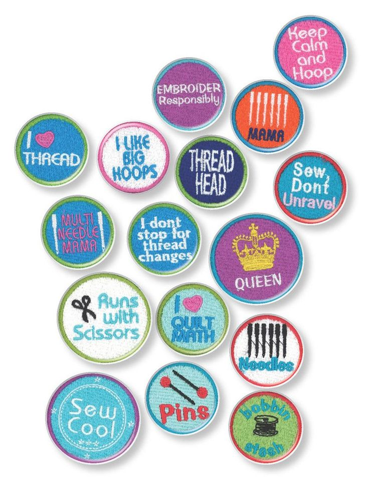 """Patch Maker Kit Stabilizer Bundle Make your own embroidered patches for clothing and accessories! 20 patch designs included! Follow these easy steps for success! Step 1. Hoop a 4"""" x 4"""" hoop with DIME's Heavy Duty Water Soluble Stabilizer and stitch a patch. Step 2. Remove the Heavy Duty Water Soluble stabilizer from the patch. Step 3. Place the Patch Attach white side up on the wrong side of the patch. Step 4. Press with a hot iron (wool setting) for 8-12 seconds. Step 5. Allow to cool. Cut…"""