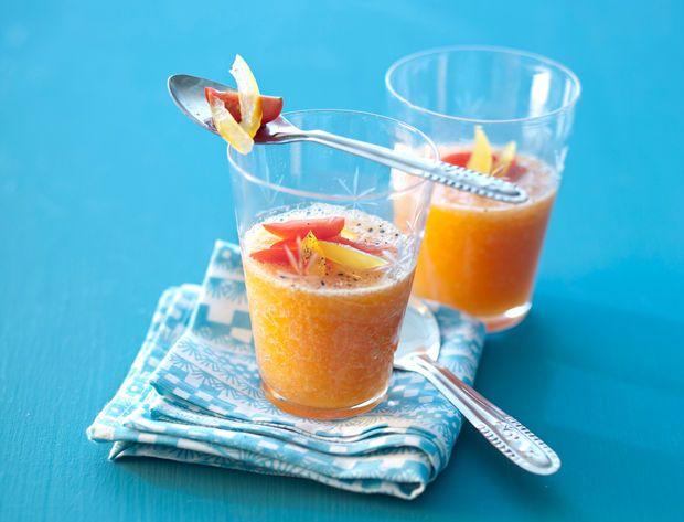 Gaspacho de melon Voir la recette du Gaspacho de melon
