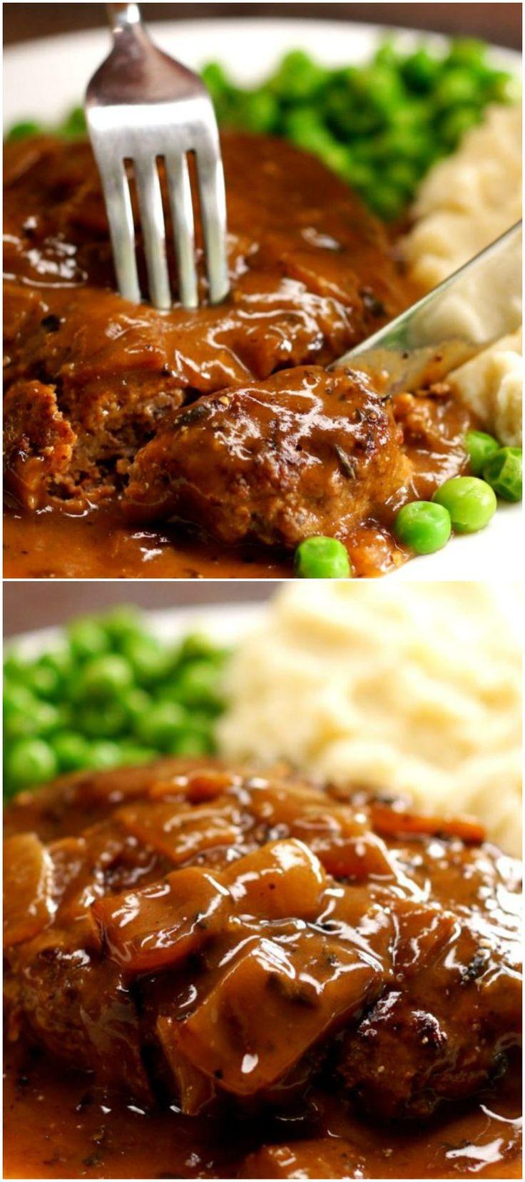 Best Salisbury Steak Recipe