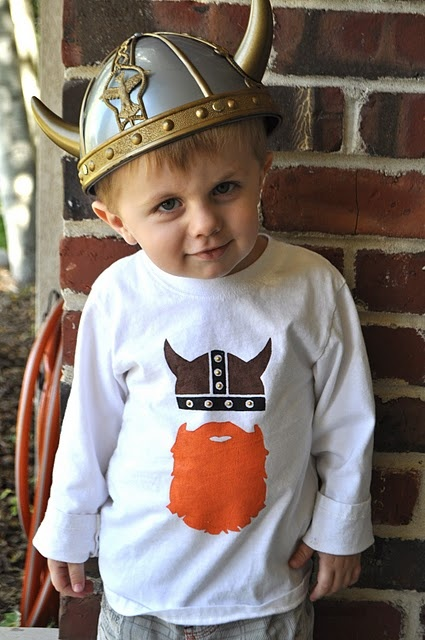 Love this stenciled shirt. Would make a great Warrior Dash shirt.....and this kid is adorable!