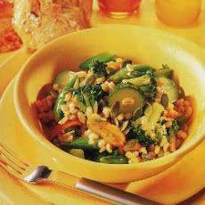 Broccoli and Barley Smoked Paprika Salad