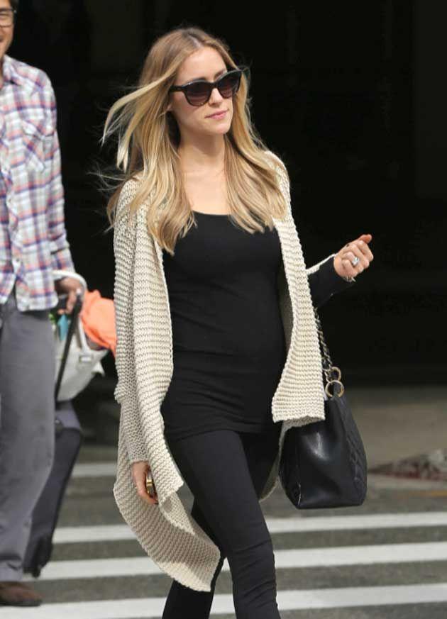 Os quatro truques de estilo da grávida Kristin Cavallari | http://alegarattoni.com.br/os-quatro-truques-de-estilo-da-gravida-kristin-cavallari/