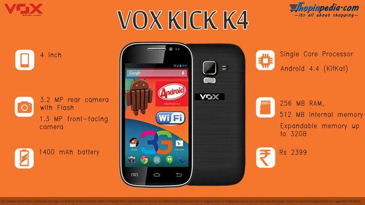 VOX Kick K4 specifications – Infographics