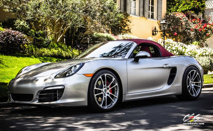 Porsche Boxster S with staggered 20