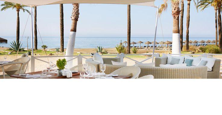 Restaurantes en Marbella | Beach Club & Café | Hotel Puente Romano
