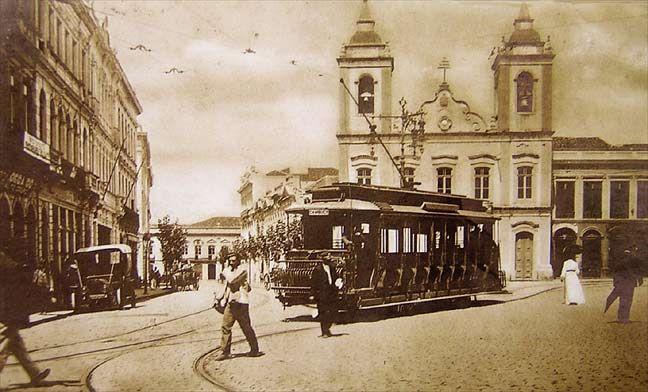 Largo/ Praça e Catedral da Sé 1904                                                                                                                                                                                 Mais