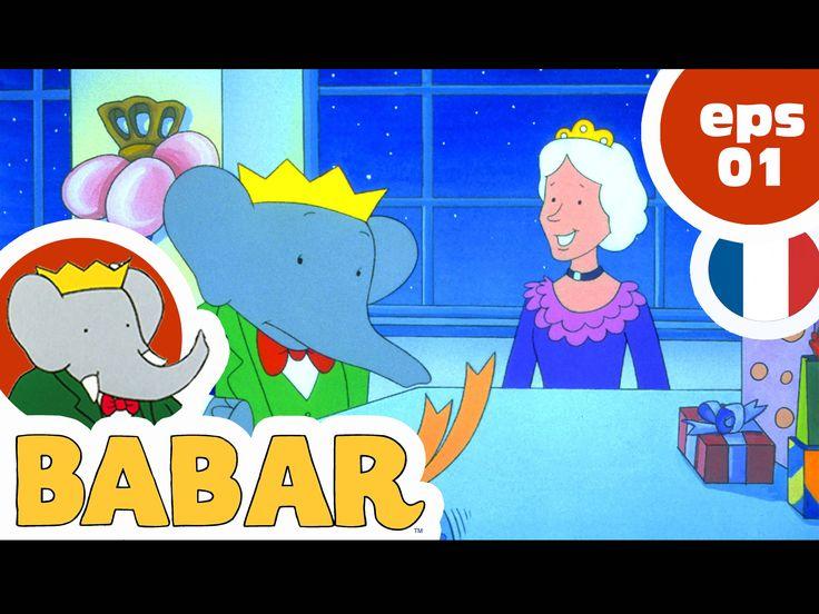 BABAR - EP01 - Les premiers pas de Babar Cet épisode raconte l'histoire des…
