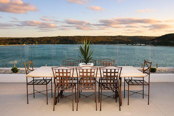 Waterfront Terrace Outdoor Styling