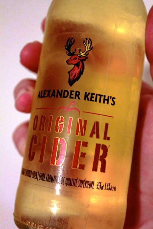 Alexander Keith's Original Cider. Apparently more on the processed side but it would be cool if it hit the Beer Store!
