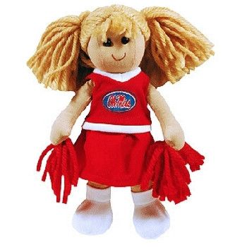 University Of Mississippi 'Ol Miss Plush Doll Smal Case Pack 36