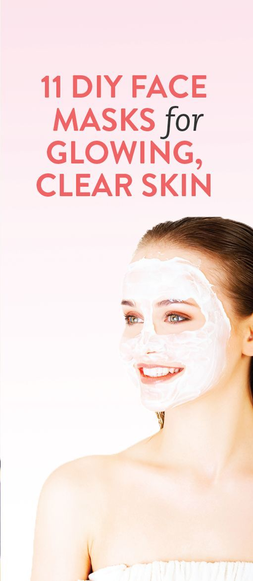 11 face masks you can do at home for the best skin of your life! // via @bustledotcom