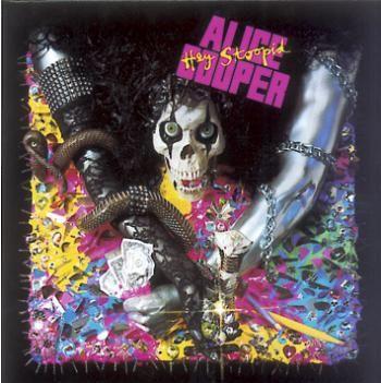 "L'album di #AliceCooper intitolato ""Hey stoopid!""."