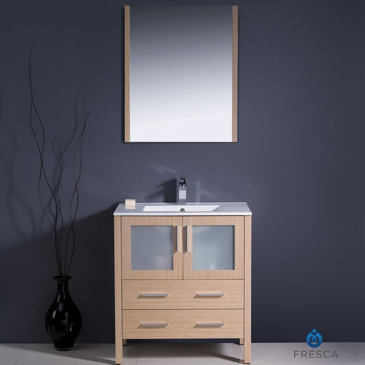 Web Photo Gallery Fresca Torino Modern Bathroom Vanity w Undermount Sink Light Oak Shop Fresca Products In Decors R Us East Route Paramus NJ Call For pricing