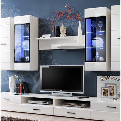 Orren Ellis Spinney Entertainment Center for TVs up to 43″